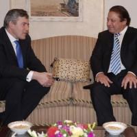 Gordon Brown and Nawaz Sharif