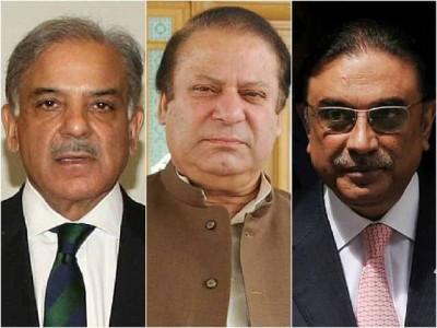 Nawaz Sharif Shahbaz Sharif And  Zardari