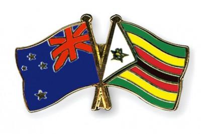 New Zealand and Zimbabwe