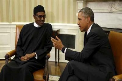 Obama, Nigerian President, Meeting