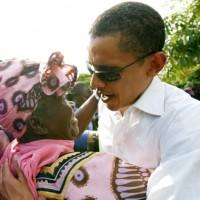 Obama meet Grandmother