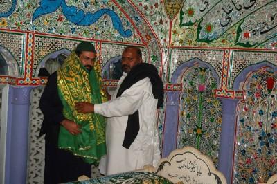 Pir of Mandi Bahauddin