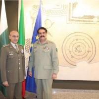 Raheel Sharif And Italy Army Chief