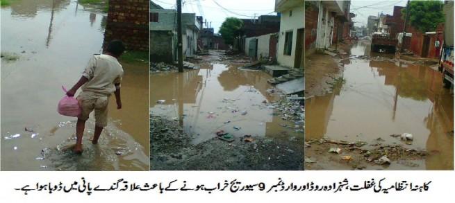 Kahnah Shahzada Road