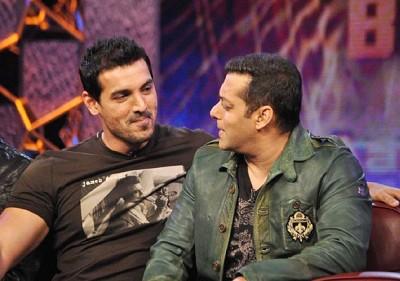 Salman Khan and Jhon Abraham