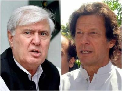 Aftab Ahmed Khan And Imran Khan