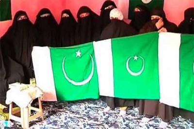 Asiya Andrabi for hoisting Pakistani Flag in Held Kashmir