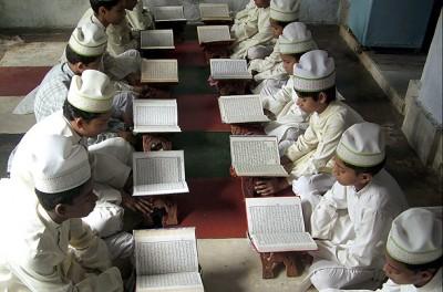 Children Read Quran