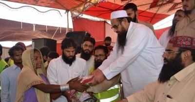 Hafiz Mohammad Saeed,Help Hindu Flood Victims