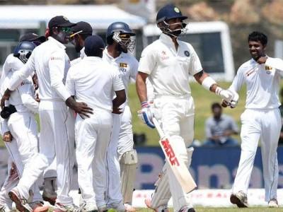 India V Sri Lanka Test