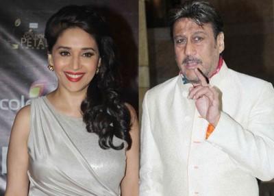 Jackie Shroff and Madhuri