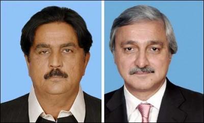 Jahangir Tareen And Siddique Baloch