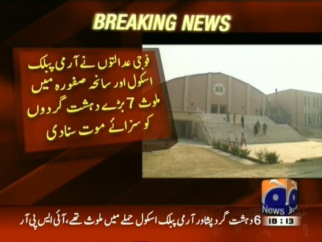 Military Courts– Breaking News – Geo