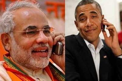 Narendra Modi and Obama