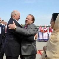 Nawaz Sharif Belarus Visited