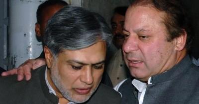 Nawaz Sharif and Ishaq Dar