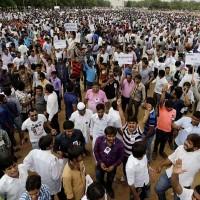 Patel Community Protest