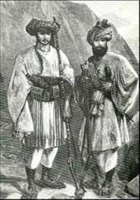 Roshaniyya Afghan Warriors