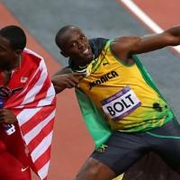 Usain Bolt and Justin Gatlin