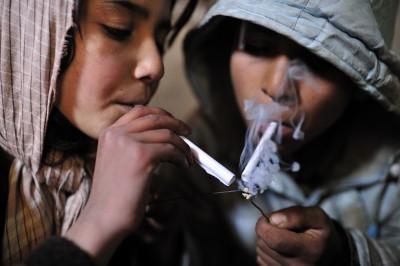 Afghanistan Children Drugs