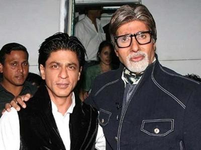 Amitabh Bachchan and Shah Rukh Khan