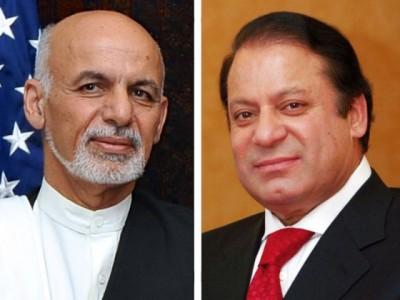 Ashraf Ghani and Nawaz Sharif