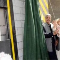 Ata Abad Lake Tunnel Inaugurated