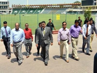 Bangladeshi Delegation Gaddafi Stadium