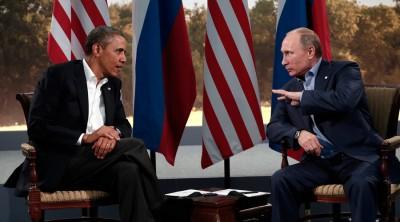 Barack Obama and Putin Met