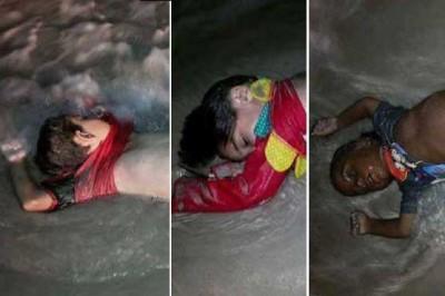Children Dead Bodies