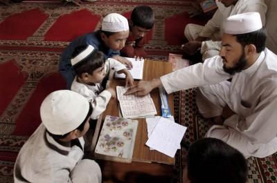 Children Reading Quran