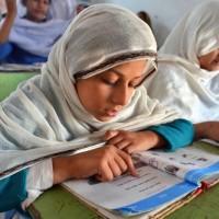 Girls Studing