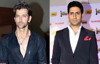 Hrithik And Abhishek