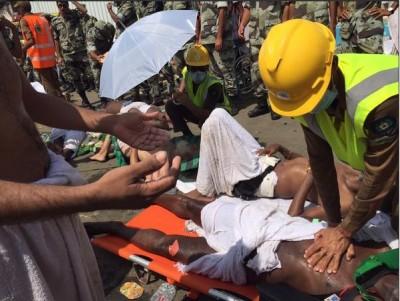 Injured Hajj Pilgrims