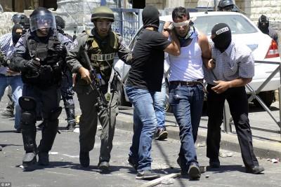 Israeli Police Shelling