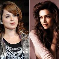 Kangna Ranawat and Deepika