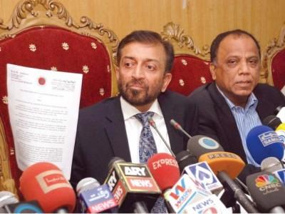 MQM leader Dr Farooq Sattar
