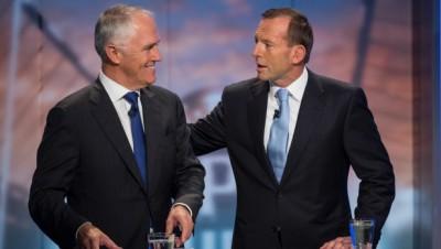 Malcolm Turnbull And Tony Abbott