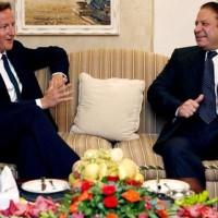 Nawaz Sharif with David Cameron