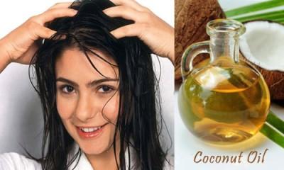 Oil Massage for Dry Hair