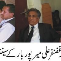 Raja Ghazanfar Ali Discussed