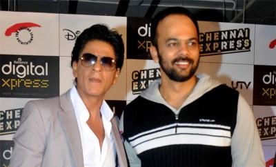 Shahrukh Khan and Rohit Shetty