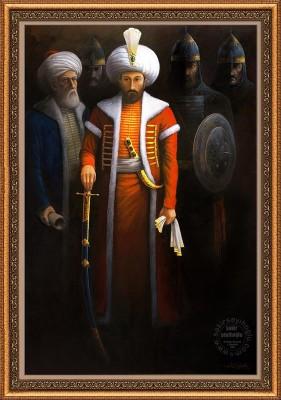 Sheykh Shamsuddin appointing Sultan