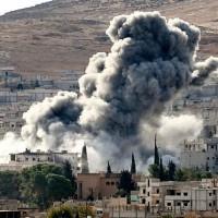 Aircraft Bombing Syria
