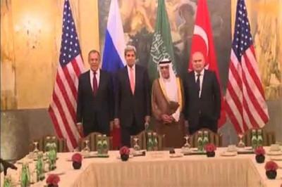 America ,Russia ,France Negotiations