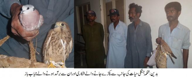 Badin Fliers Hunter  Arrested