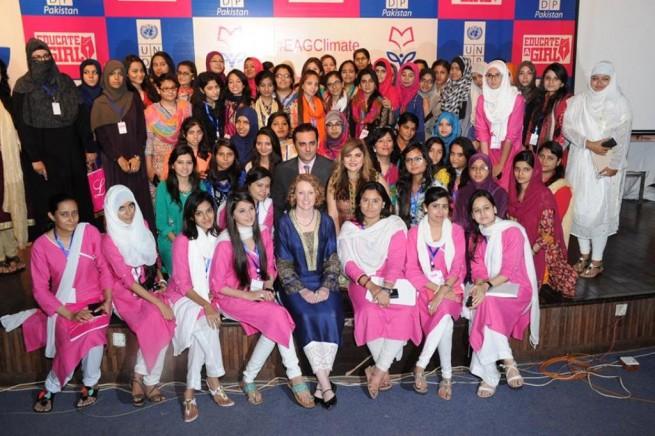 Climate Workshop at Art Council Karachi