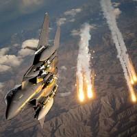 Fighter Jet Bombing