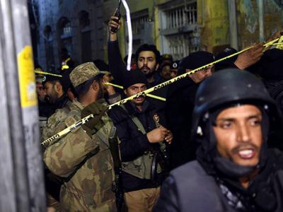 Imam Bargah Suicide Attack
