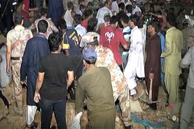 Karachi Soil Landslide